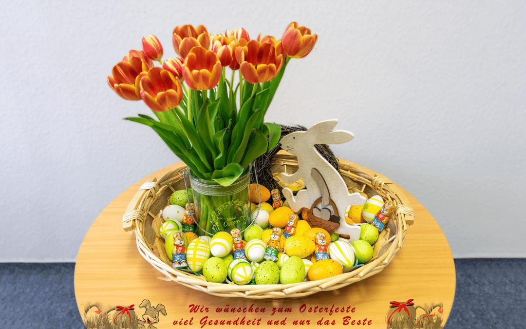 Ist der Frühling endlich hier,  steht auch Ostern vor der Tür